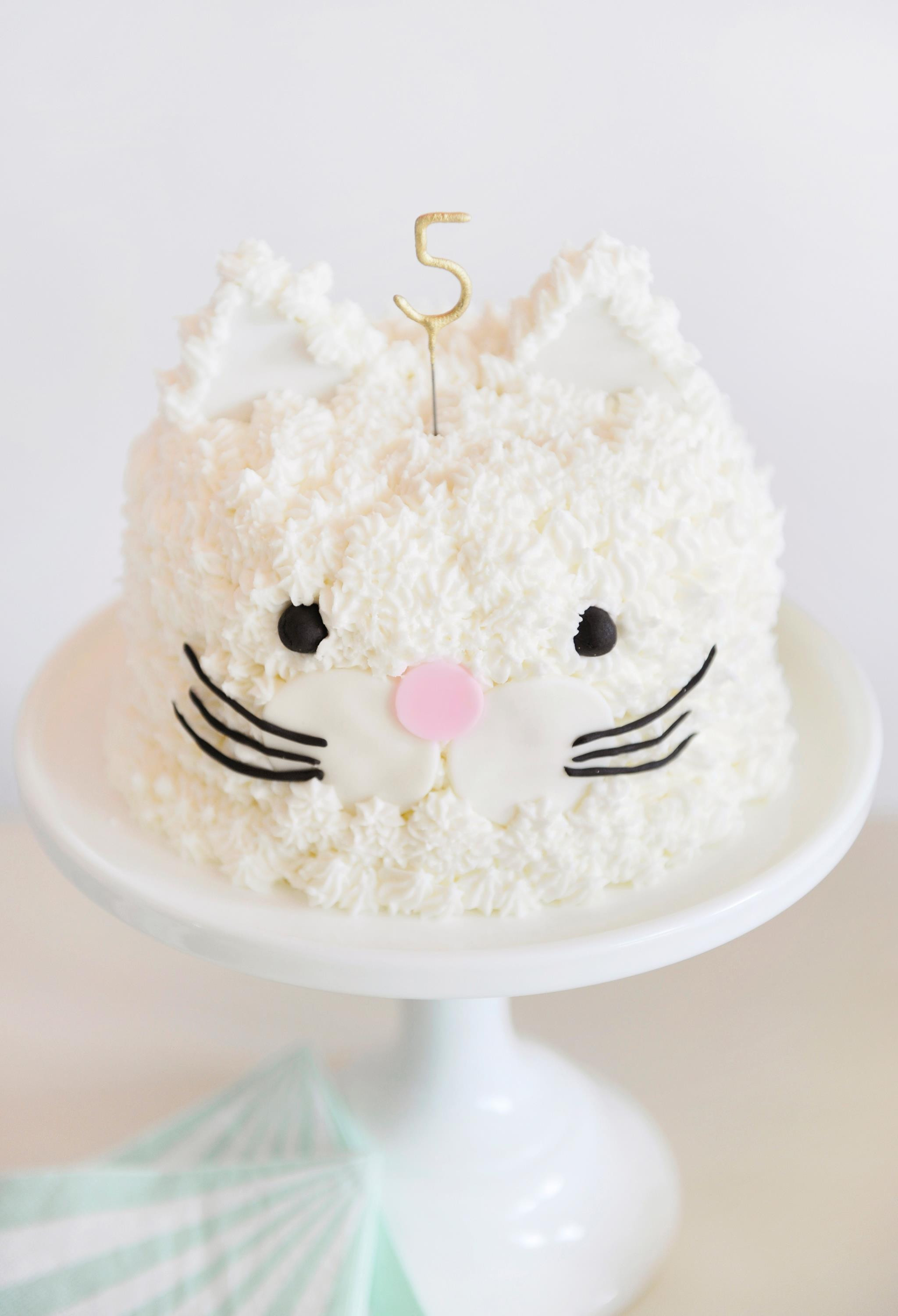 Best ideas about Cat Birthday Cake . Save or Pin How to Throw the Purr fect Kitten Party Project Nursery Now.