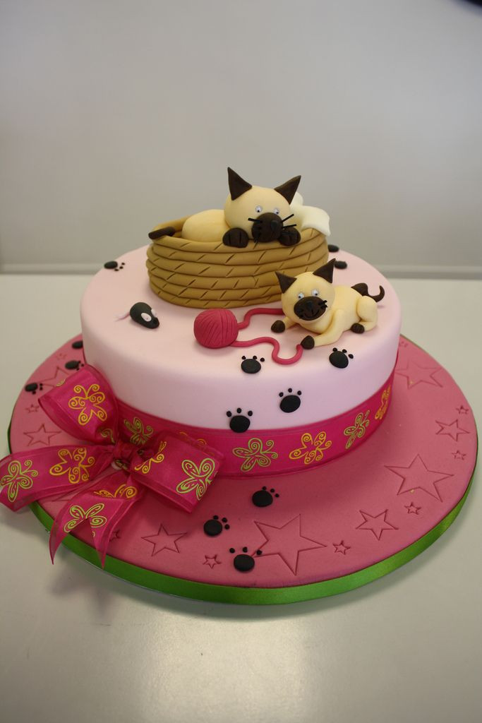 Best ideas about Cat Birthday Cake . Save or Pin 1000 images about Cat Cakes on Pinterest Now.