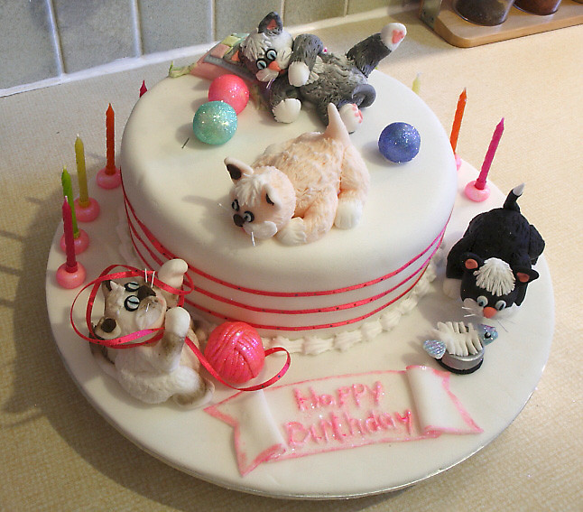 Best ideas about Cat Birthday Cake . Save or Pin Crazy Cat Lady Cakes – Janet Carr Now.