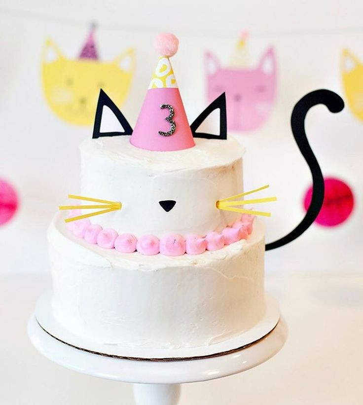 Best ideas about Cat Birthday Cake . Save or Pin Best 25 Kitty cake ideas on Pinterest Now.