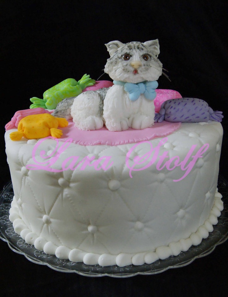 Best ideas about Cat Birthday Cake . Save or Pin 337 best images about Cat Cakes on Pinterest Now.