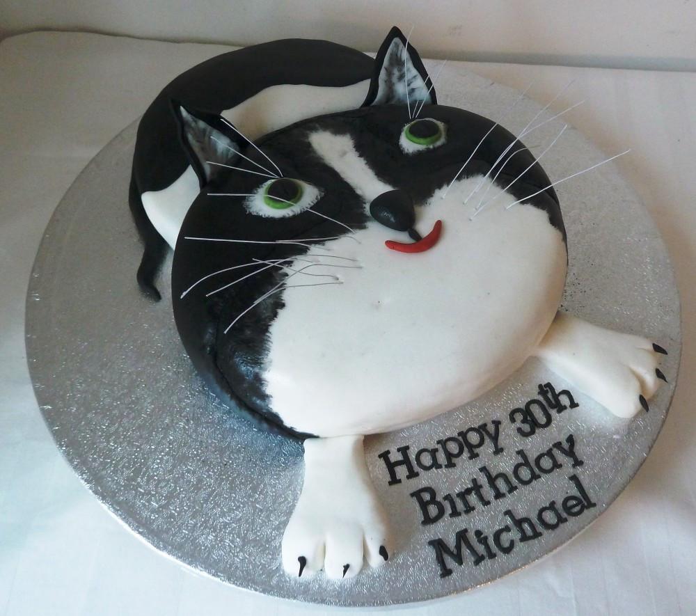 Best ideas about Cat Birthday Cake . Save or Pin CAT BIRTHDAY CAKE Fomanda Gasa Now.