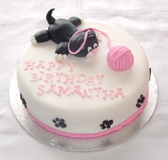 Best ideas about Cat Birthday Cake . Save or Pin Themed Cakes Birthday Cakes Wedding Cakes Cat Themed Cakes Now.