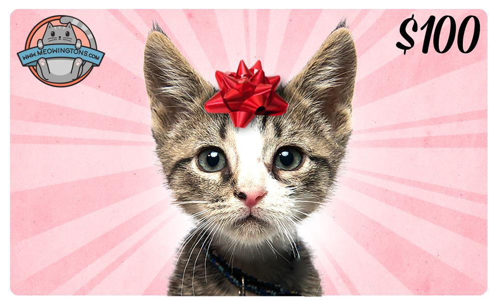 Best ideas about Cat Birthday Gifts . Save or Pin Cat Themed Gift Cards Now.