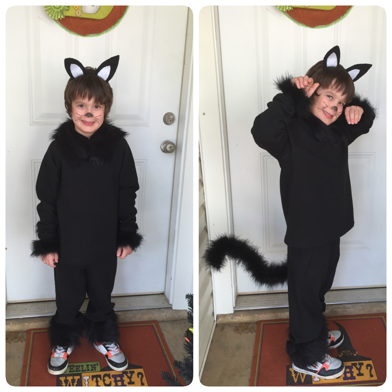 Best ideas about Cat DIY Costume . Save or Pin Healthy Momma Talk DIY Binx Cat Costume Now.