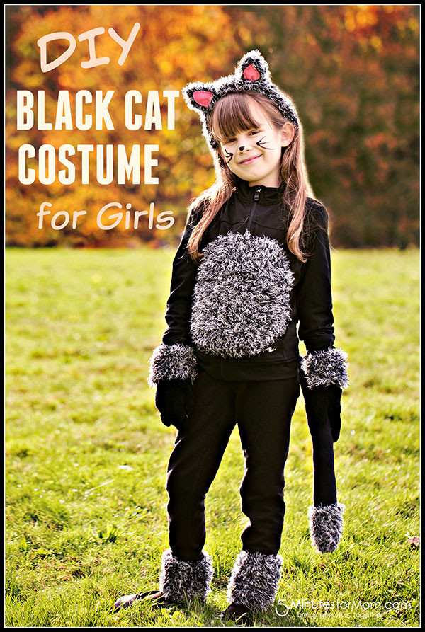 Best ideas about Cat DIY Costume . Save or Pin DIY Cat Costume for Kids Now.