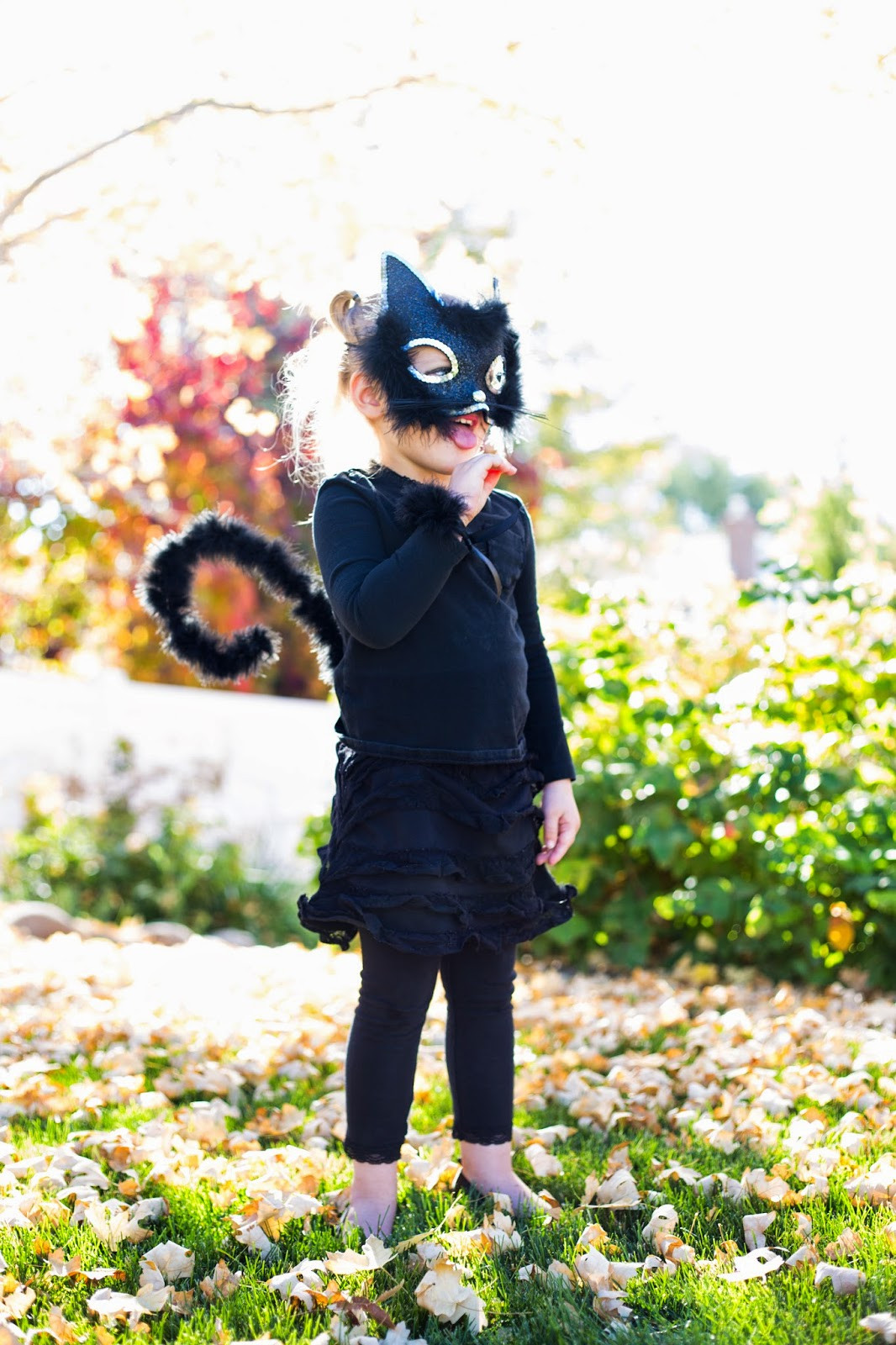 Best ideas about Cat DIY Costume . Save or Pin do it yourself divas Little Girl Cat Costume for Halloween Now.