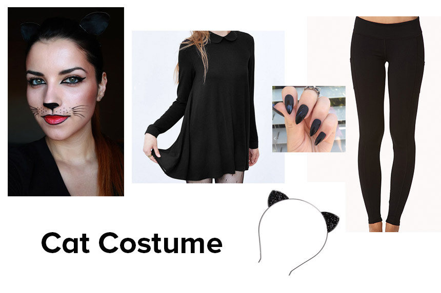 Best ideas about Cat DIY Costume . Save or Pin Last Minute DIY Halloween Costume Cat Giveaway – Megan Joy Now.