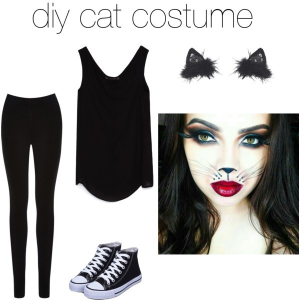 Best ideas about Cat DIY Costume . Save or Pin Diy cat costume by V Now.