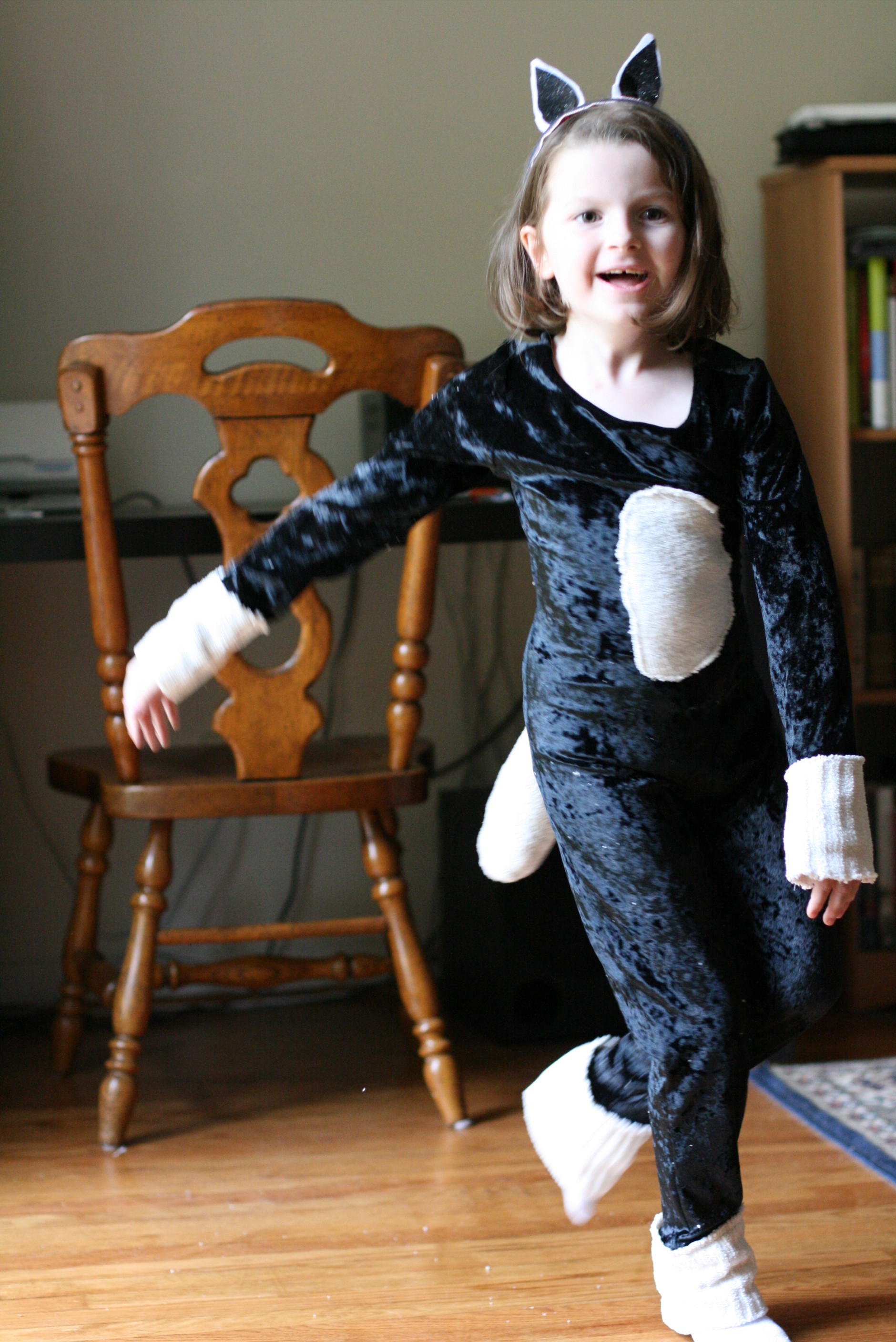 Best ideas about Cat DIY Costume . Save or Pin DIY Halloween costume Kitty Cat – Mudlark Tales Now.