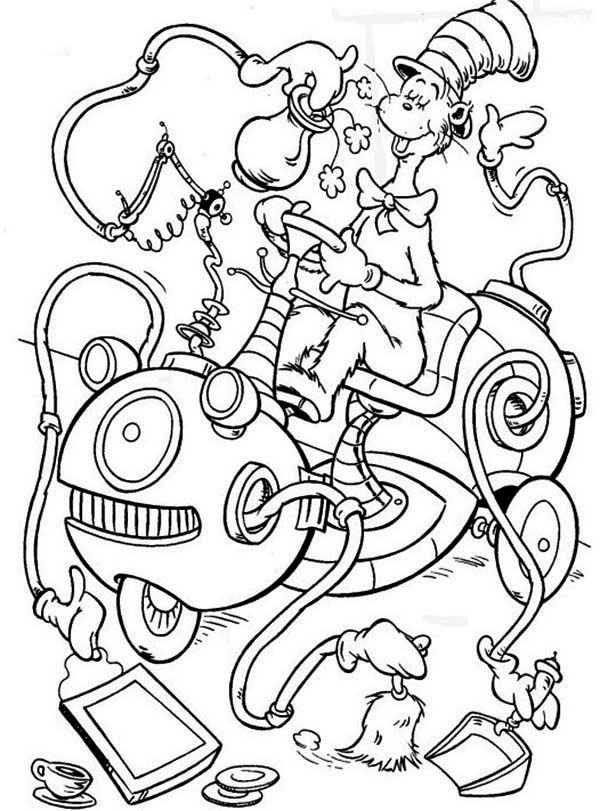 Best ideas about Cat In The Hat Printable Coloring Pages . Save or Pin Cat In The Hat Coloring Pages Free Coloring Home Now.