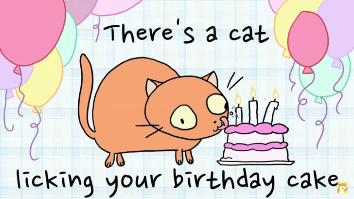 Best ideas about Cat Licking Your Birthday Cake . Save or Pin There s A Cat Licking Your Birthday Cake Chrome Theme Now.