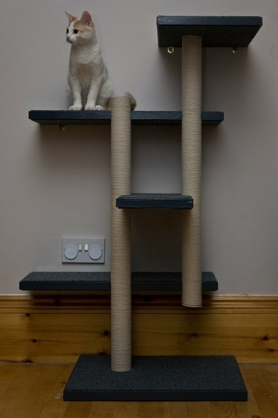 Best ideas about Cat Tree Plans DIY . Save or Pin DIY cat tree ideas at Squidoo Cat Ideas Now.