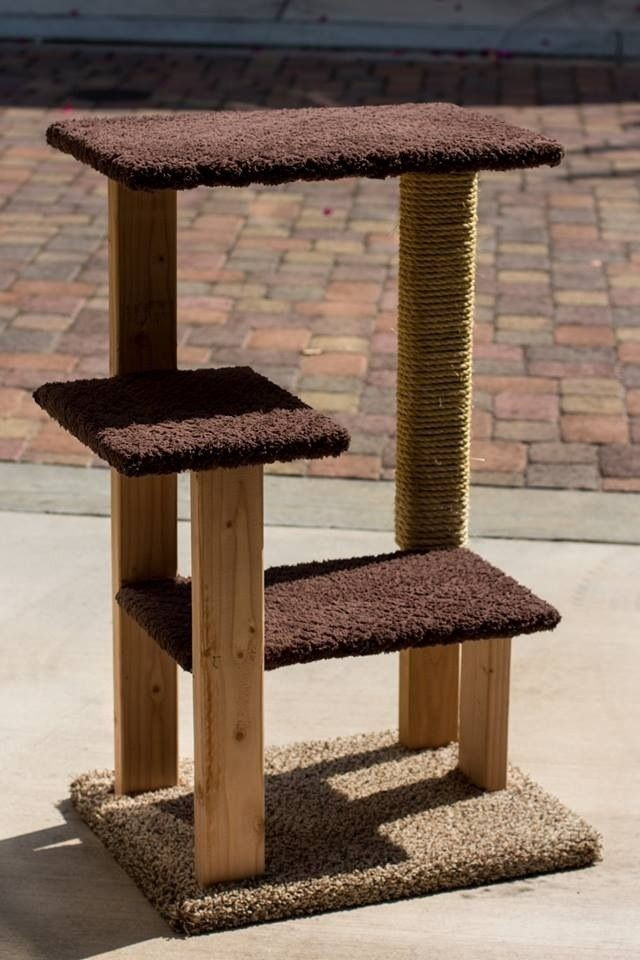 Best ideas about Cat Tree Plans DIY . Save or Pin Decided to try my hand at building my own cat tree Now.