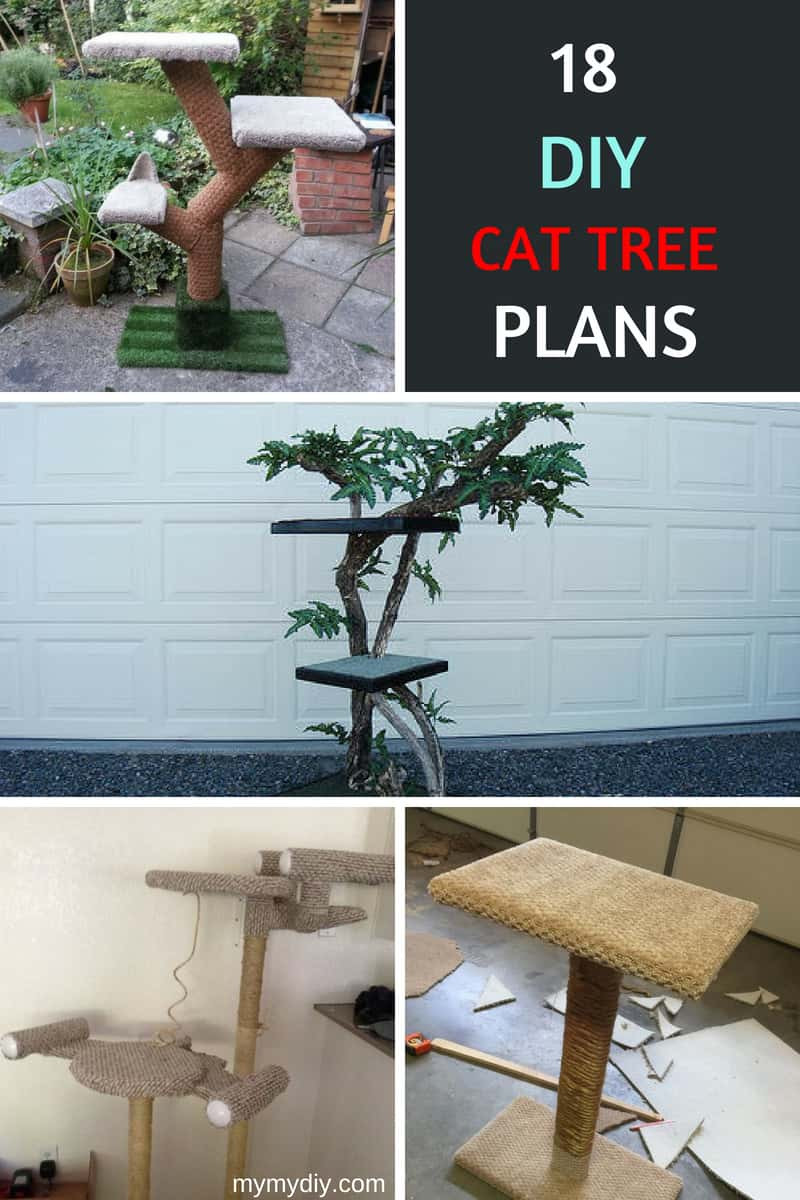 Best ideas about Cat Tree Plans DIY . Save or Pin 18 Classy DIY Cat Tree Tower Plans [Free List] MyMyDIY Now.