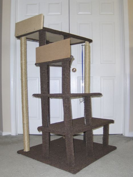 Best ideas about Cat Tree Plans DIY . Save or Pin DIY Fanatic Multi Level Cat Tree Now.
