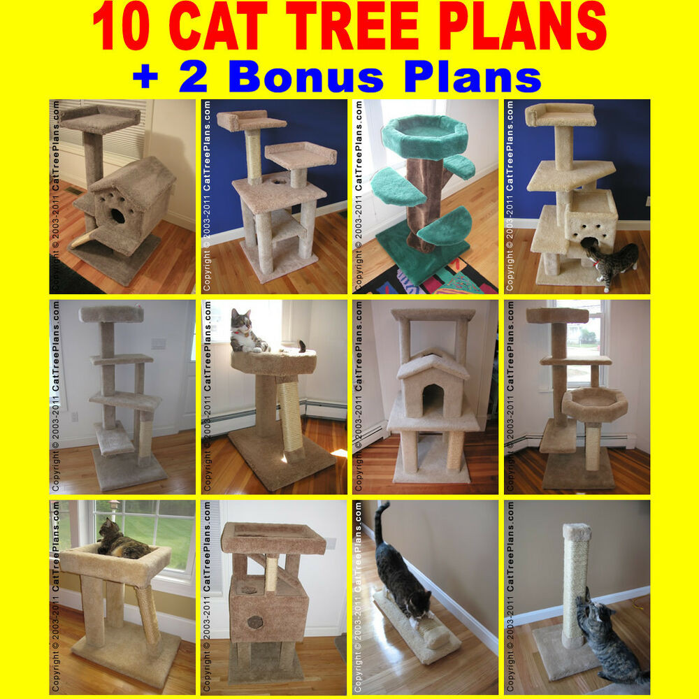 Best ideas about Cat Tree Plans DIY . Save or Pin MAKE A CONDO TOWER Do It Yourself 10 CAT TREE PLANS DIY 2 Now.