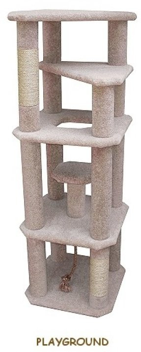 Best ideas about Cat Tree Plans DIY . Save or Pin Tree Cat Condo Foter Now.