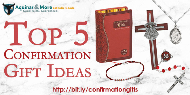 Best ideas about Catholic Confirmation Gift Ideas . Save or Pin 5 Top Confirmation t ideas Now.