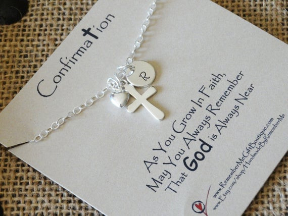 Best ideas about Catholic Confirmation Gift Ideas . Save or Pin Confirmation Gift Catholic Gifts Confirmation Necklace Now.