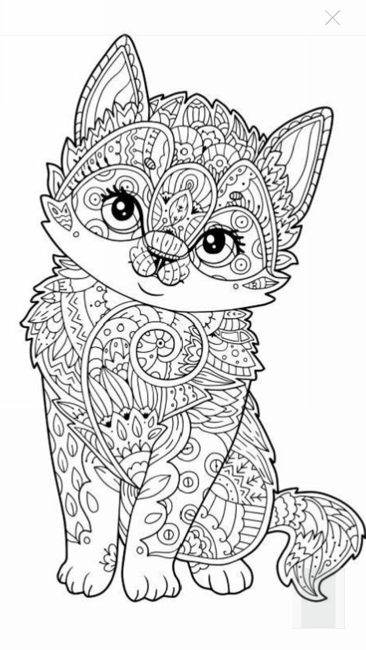 Best ideas about Cats Adult Coloring Books . Save or Pin 627 best images about Adult Colouring Cats Dogs Now.