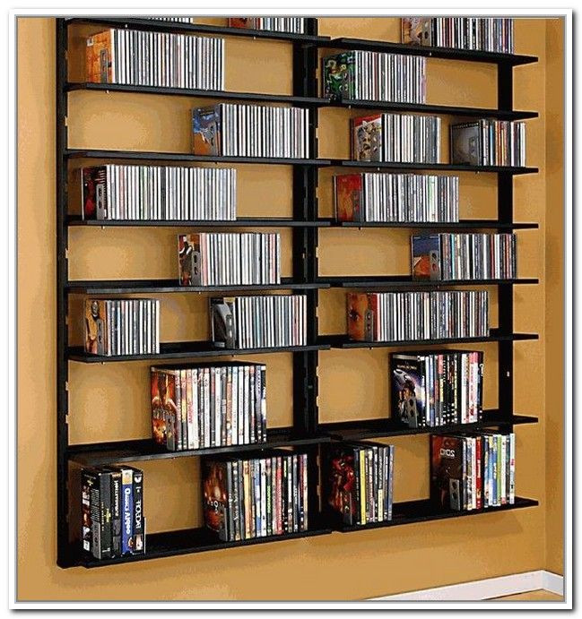 Best ideas about Cd Storage Ideas DIY . Save or Pin 17 Best Ideas About Dvd Storage Shelves Pinterest Diy Now.