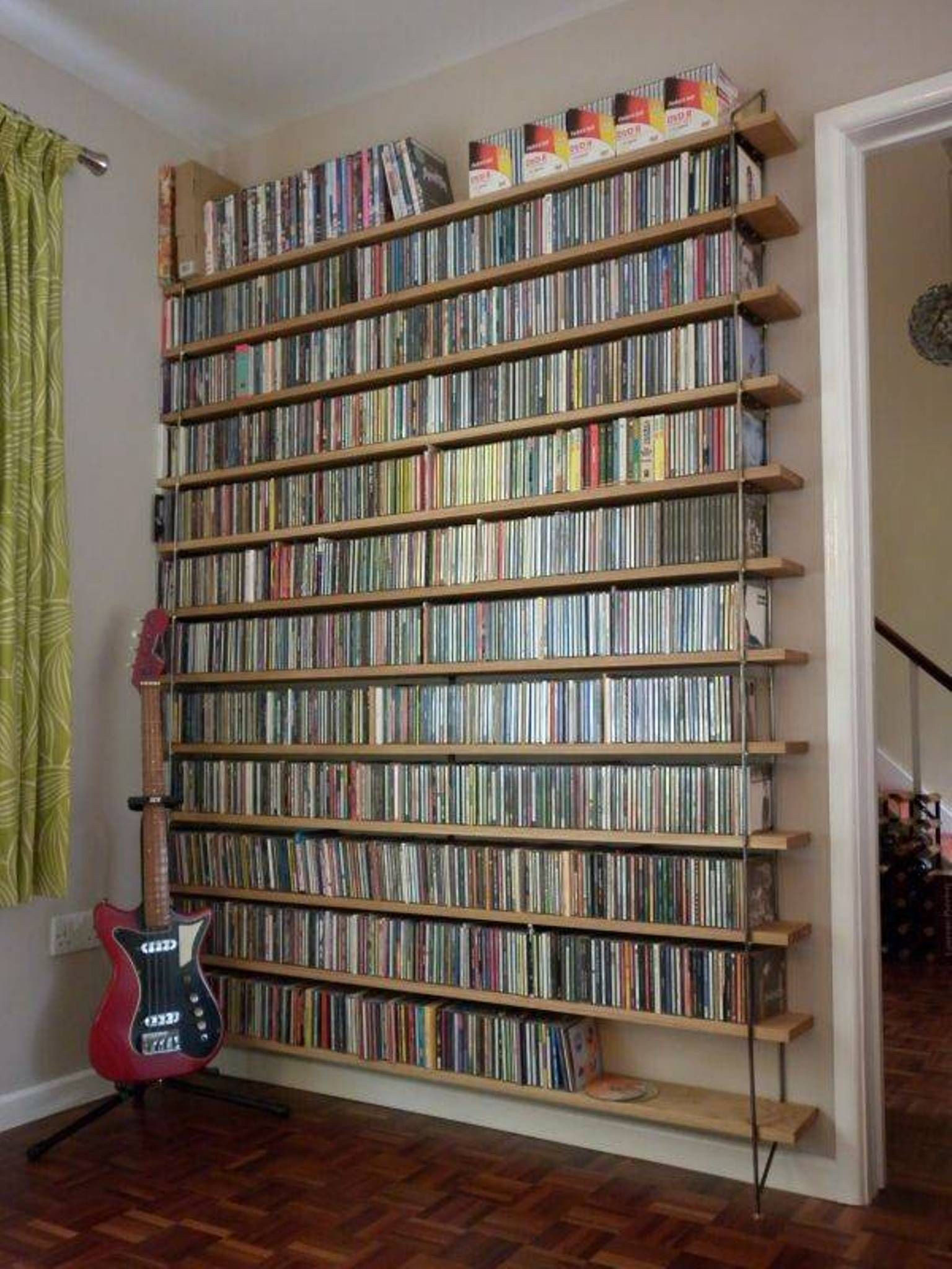 Best ideas about Cd Storage Ideas DIY . Save or Pin 17 Unique and Stylish CD and DVD Storage Ideas For Small Now.