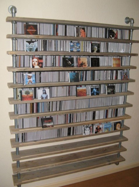 Best ideas about Cd Storage Ideas DIY . Save or Pin 20 Unique Stylish CD and DVD Storage Ideas for Small Space Now.