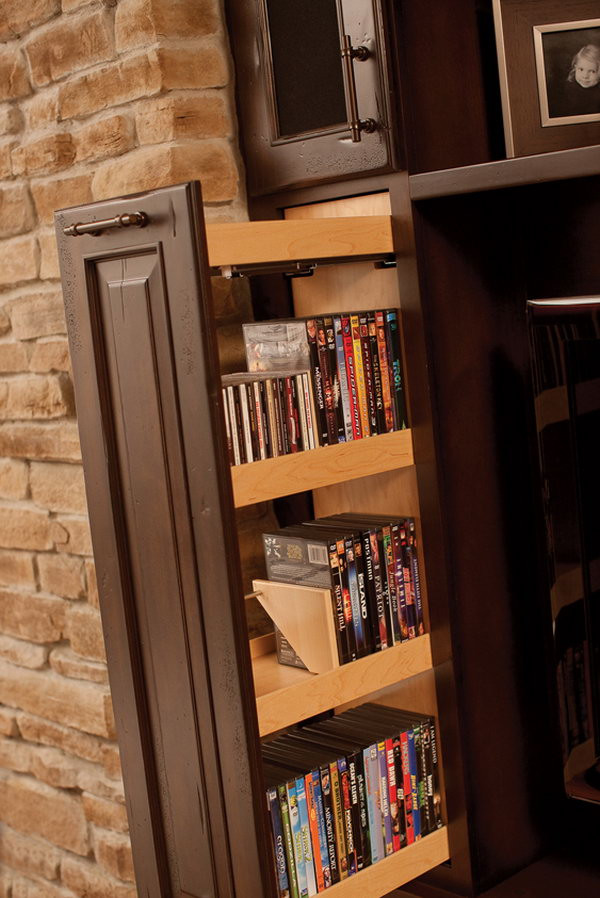 Best ideas about Cd Storage Ideas DIY . Save or Pin Creative DIY CD and DVD Storage Ideas or Solutions 2017 Now.