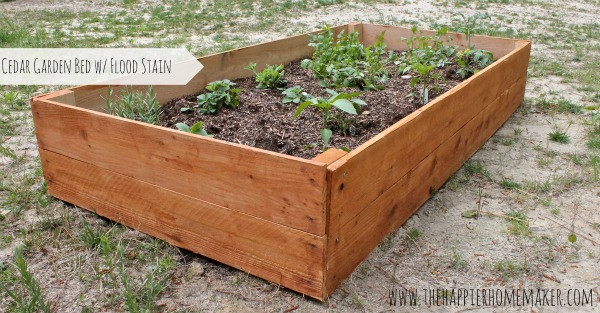 Best ideas about Cedar Raised Garden Beds DIY . Save or Pin DIY Cedar Raised Garden Bed Now.