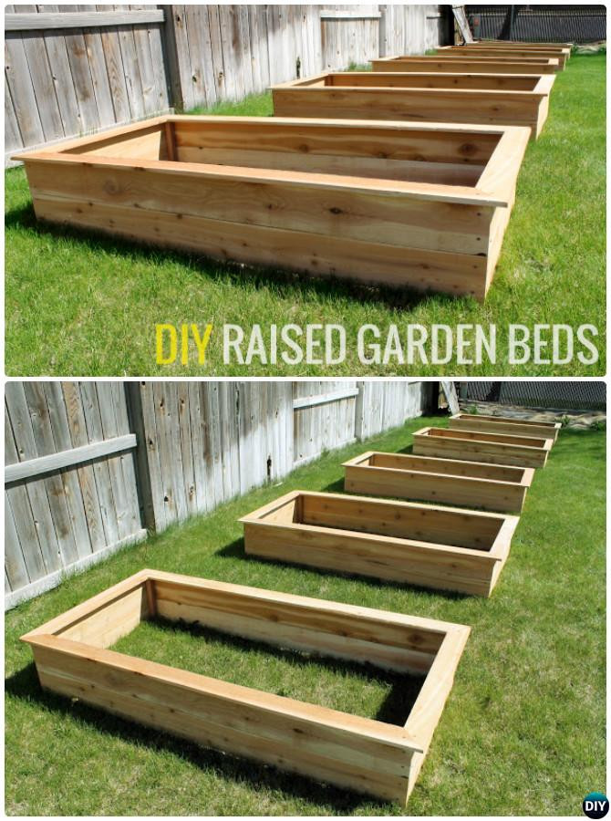 Best ideas about Cedar Raised Garden Beds DIY . Save or Pin DIY Raised Garden Bed Ideas Instructions [Free Plans] Now.