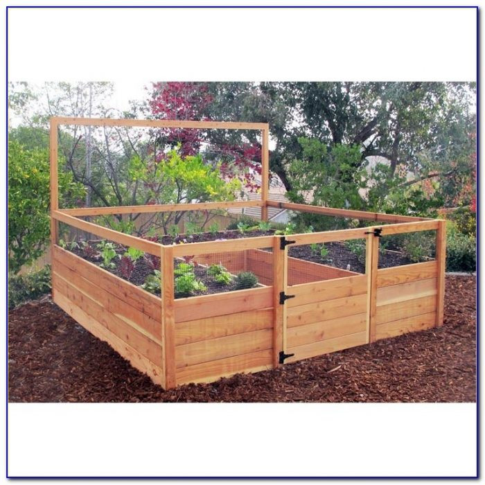 Best ideas about Cedar Raised Garden Beds DIY . Save or Pin Raised Bed Garden Kit Menards Garden Home Design Ideas Now.