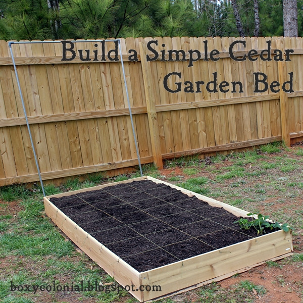 Best ideas about Cedar Raised Garden Beds DIY . Save or Pin DIY Backyard Fire Pit Fire Pit Weekend Revealed Now.