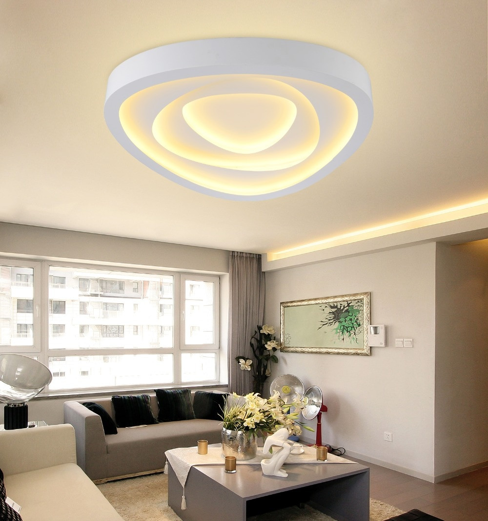 Best ideas about Ceiling Lights For Living Room . Save or Pin Aliexpress Buy New Modern Led Ceiling Lights For Now.