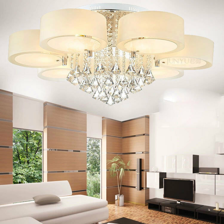Best ideas about Ceiling Lights For Living Room . Save or Pin Modern Crystal Ceiling Lights chandeliers Bedroom lights Now.