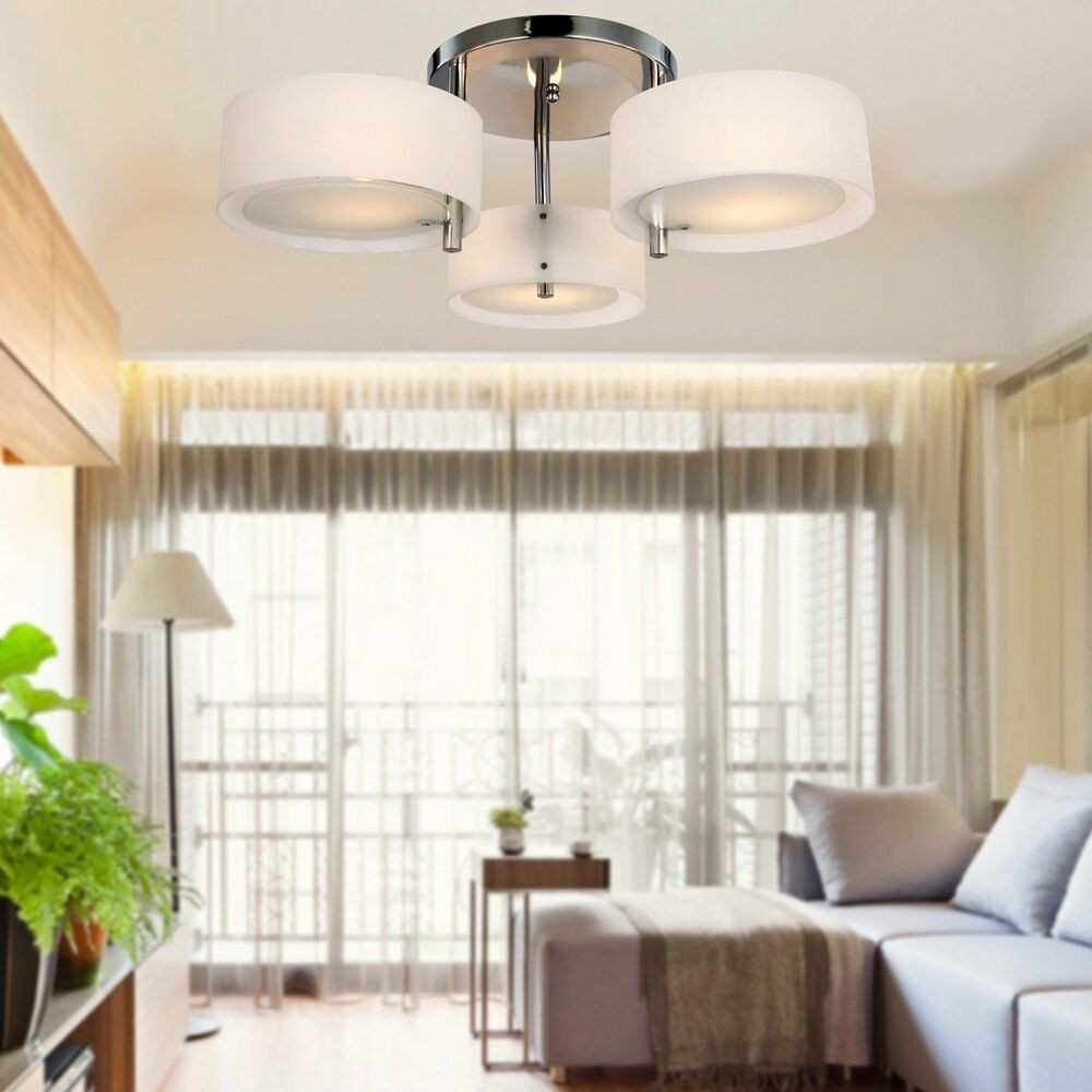 Best ideas about Ceiling Lights For Living Room . Save or Pin Modern Fit Hallway Bedroom Living Room Silver Crystal Now.
