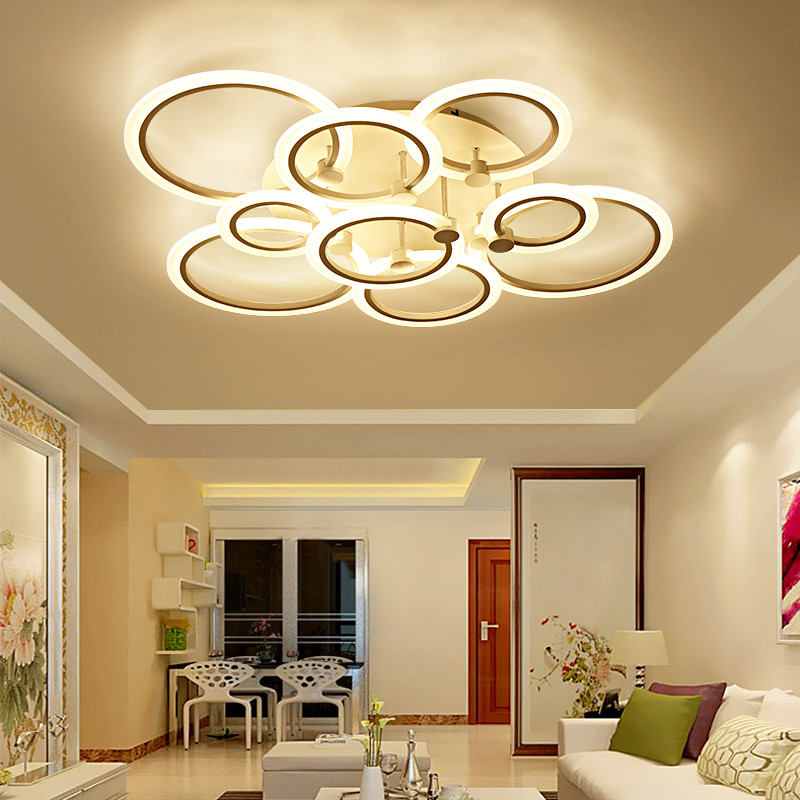 Best ideas about Ceiling Lights For Living Room . Save or Pin Modern LED Ceiling Lights Remote Control Aluminum Ceiling Now.