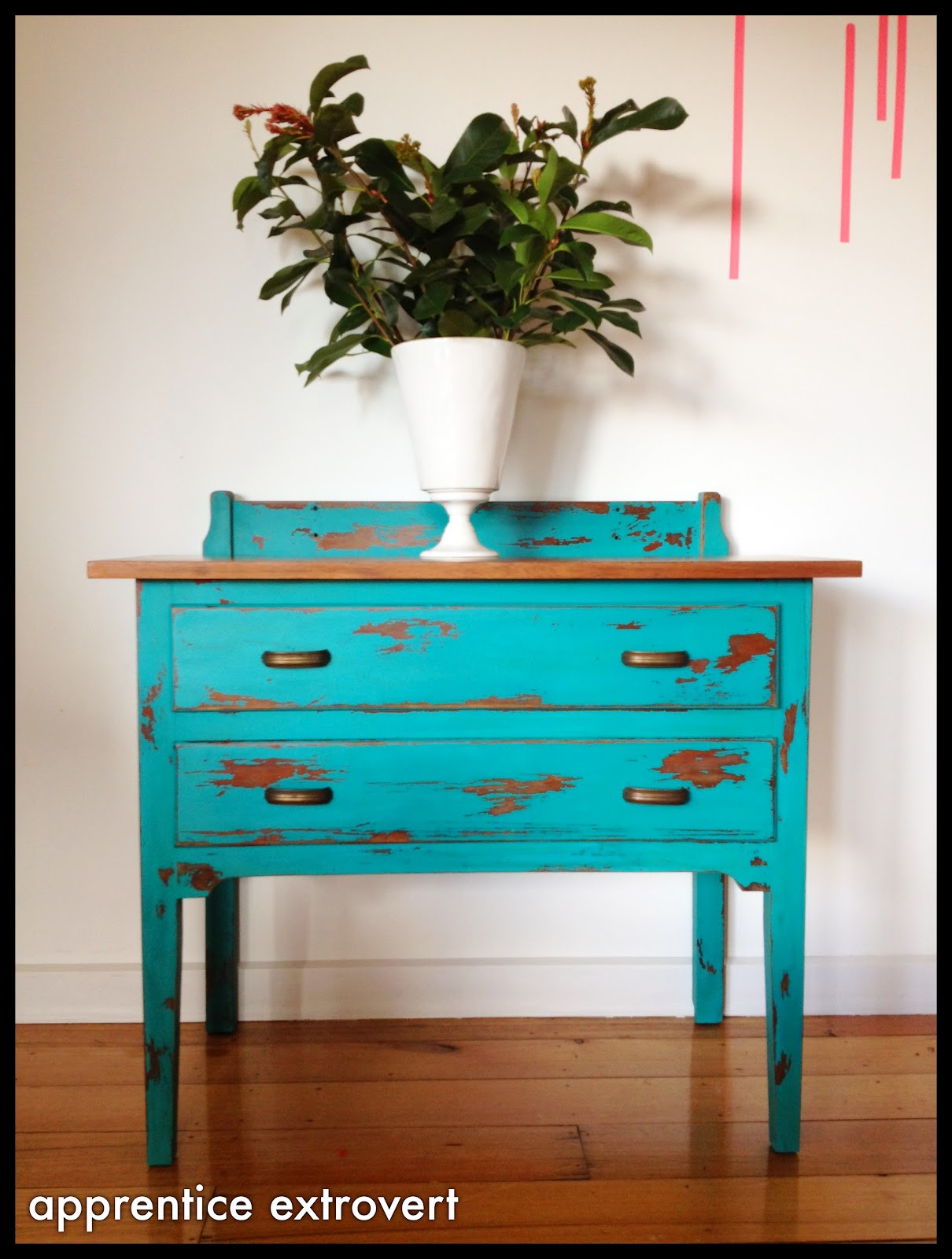 Best ideas about Chalk Paint DIY . Save or Pin apprentice extrovert Before And After Vintage Dresser Now.