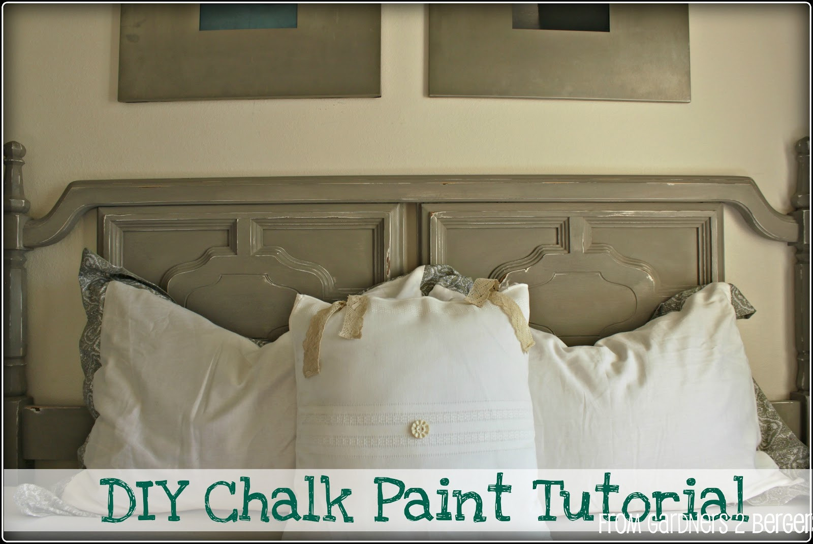 Best ideas about Chalk Paint DIY . Save or Pin from Gardners 2 Bergers DIY Chalk Paint tutorial Now.