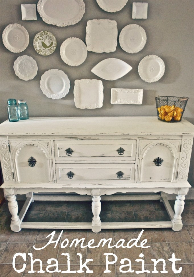 Best ideas about Chalk Paint DIY . Save or Pin Homemade Chalk Paint vs ASCP Now.