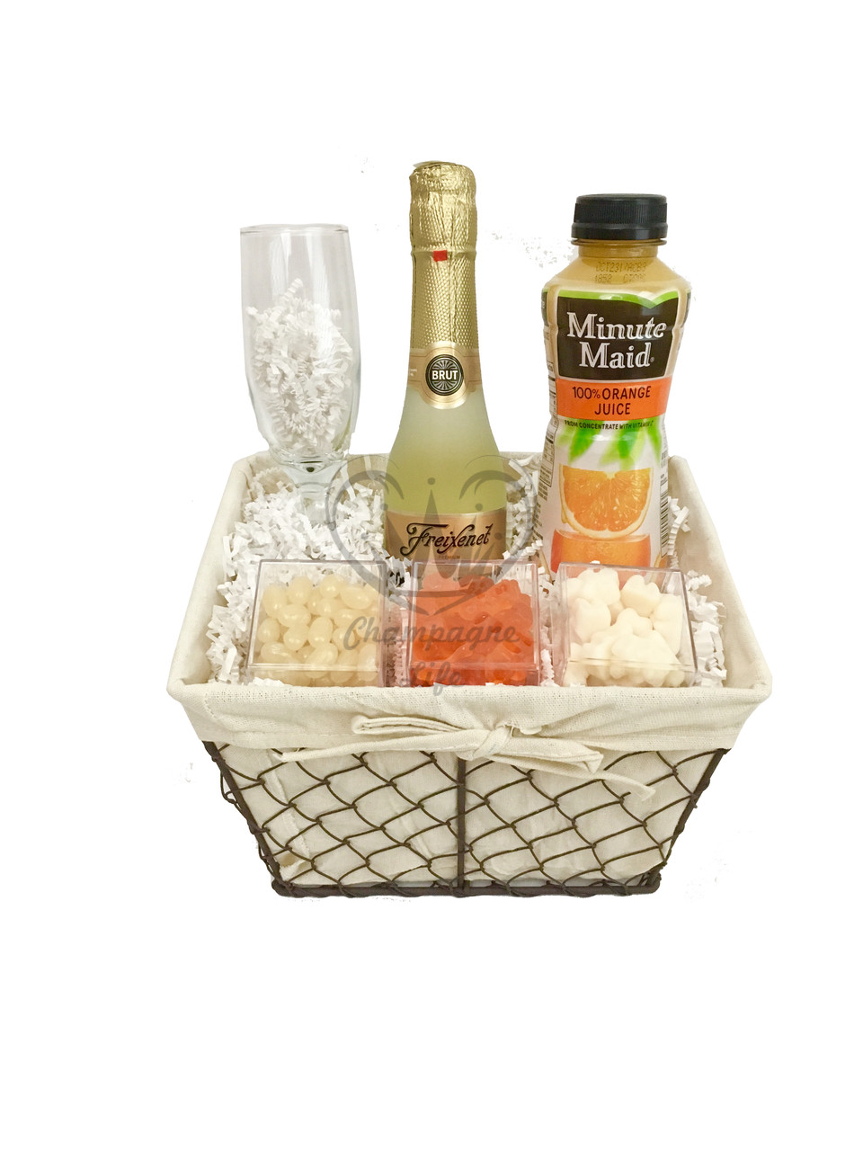 Best ideas about Champagne Gift Ideas . Save or Pin Champagne Mimosa Basket Champagne Life Gift Baskets Now.
