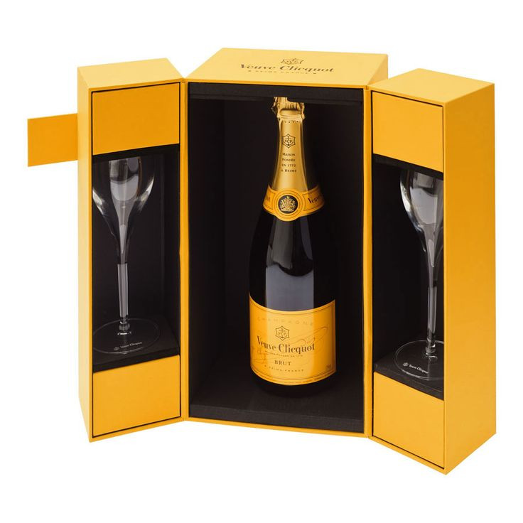 Best ideas about Champagne Gift Ideas . Save or Pin Veuve Clicquot Champagne & 2 Flutes Gift Set Delivery in Now.