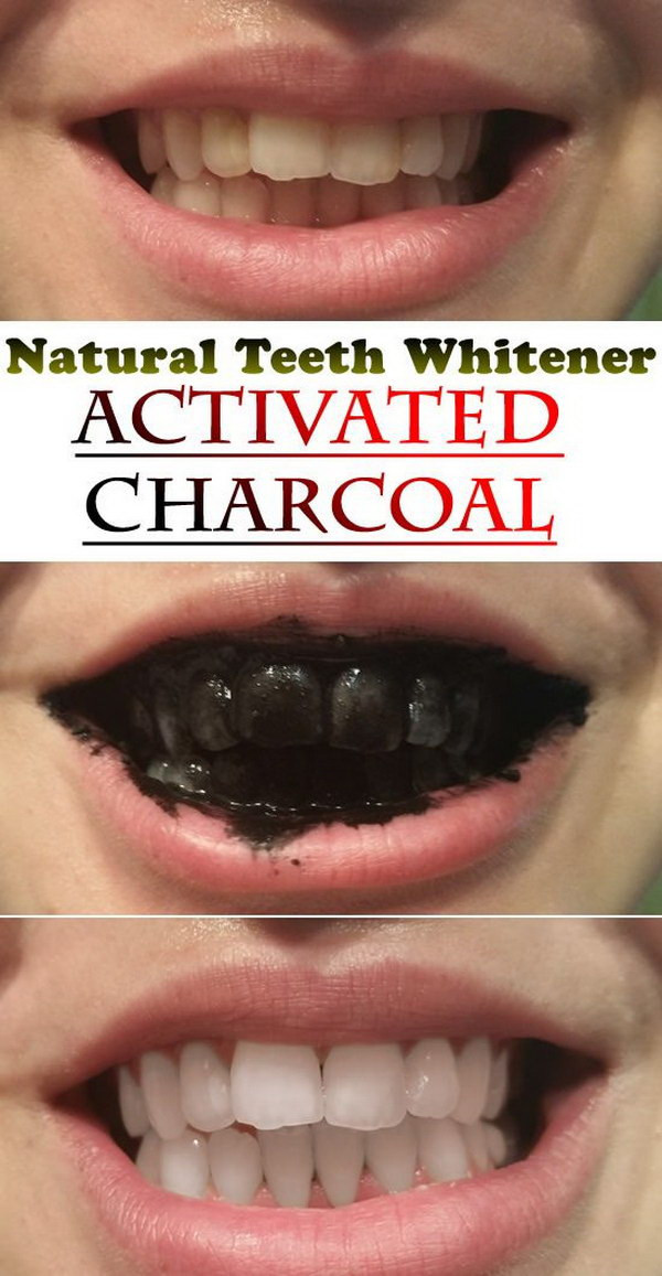 Best ideas about Charcoal Teeth Whitening DIY . Save or Pin 15 Natural Ways to Whiten Your Teeth Homemade Teeth Now.