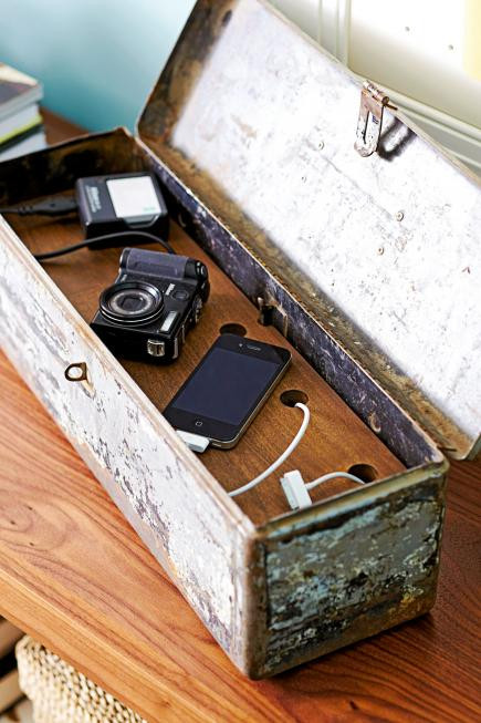 Best ideas about Charging Station DIY . Save or Pin 16 Charging Station Ideas to Eliminate Device Clutter Now.