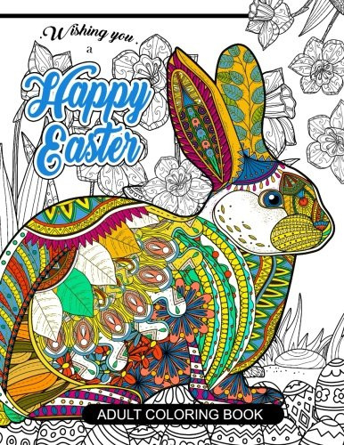 Best ideas about Cheap Adult Coloring Books . Save or Pin Cheapest copy of Happy Easter Adult Coloring book Rabbit Now.
