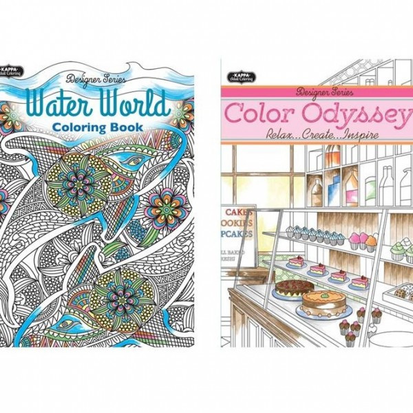 Best ideas about Cheap Adult Coloring Books . Save or Pin Adult Coloring Books Wholesale Assortment 3 Mazer Now.