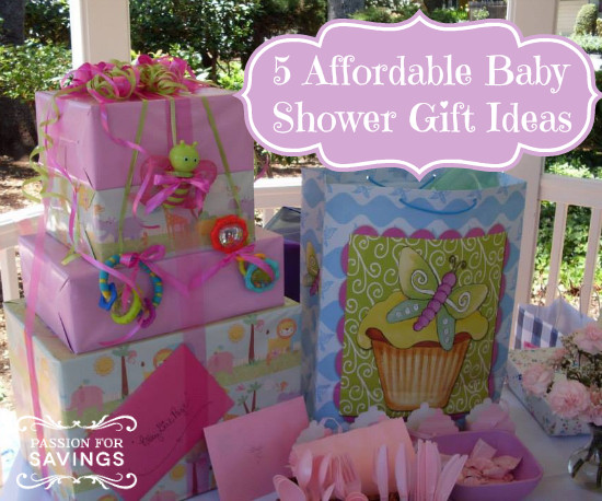 Best ideas about Cheap Baby Gift Ideas . Save or Pin Cheap Baby Shower Gift Ideas Passion for Savings Now.
