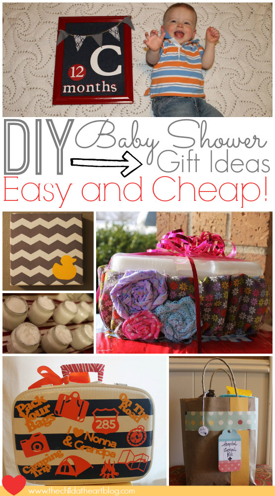 Best ideas about Cheap Baby Gift Ideas . Save or Pin Easy and Cheap Baby Shower DIY Gift Ideas Child at Heart Now.