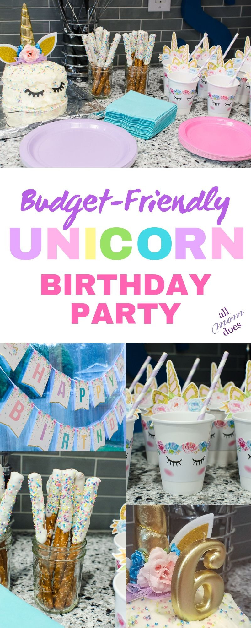 Best ideas about Cheap Birthday Ideas . Save or Pin Bud Friendly Unicorn Birthday Party in 2019 Now.