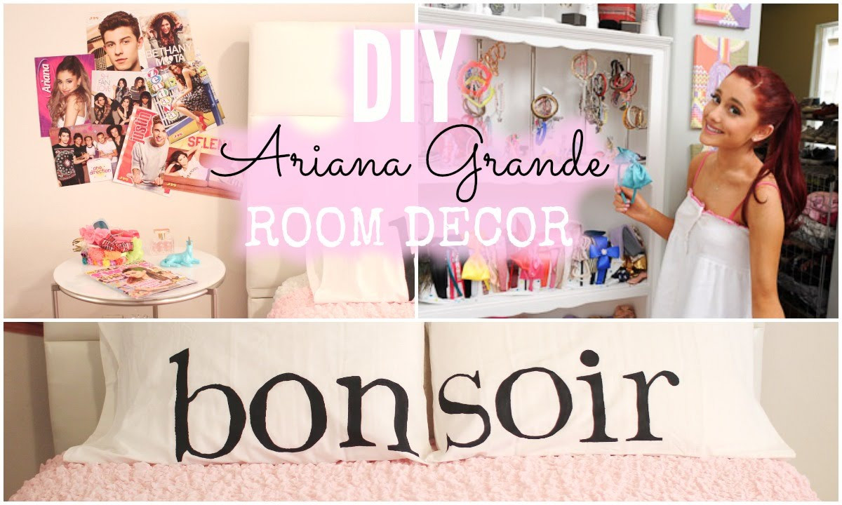 Best ideas about Cheap DIY Room Decor . Save or Pin DIY Ariana Grande Room Decor Cheap & Simple Now.